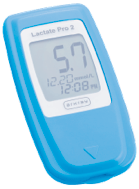 Blood lactate measurement device