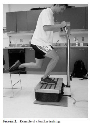 FIGURE 2. Example of vibration training.