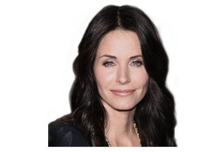Courteney Cox uses Power plate for personal training exercises
